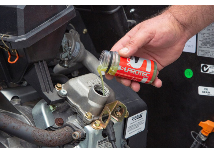Присадка Актив Плюс в масло двигателя с объемом до 2,5л для устранения расхода масла, задиров, восстановления компрессии и мощности