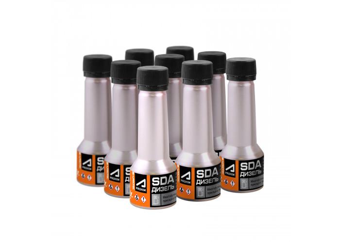 Набор присадок в дизельное топливо СДА бокс (SDA box) для снижения расхода, восстановления и продления ресурса форсунок, 450мл