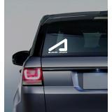 """Наклейка """"AcademeG logo"""" на стекло или кузов автомобиля"""