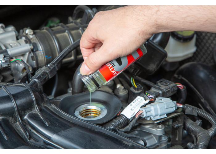 Присадка Актив Стандарт в масло нетурбированного двигателя с объемом до 1,6л для устранения расхода масла, задиров, восстановления компрессии и мощности